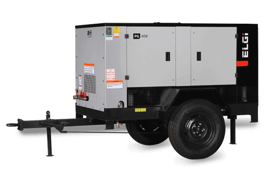 electric powered portable air compressors for mining