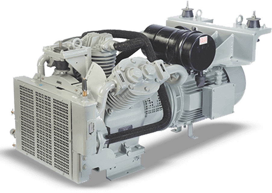 oil free railway air compressor