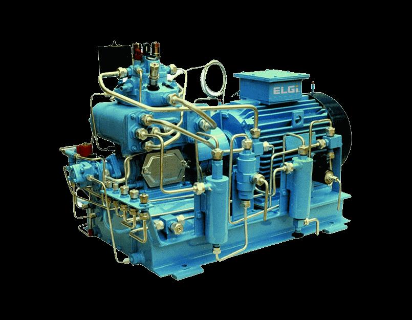 Custom built compressor