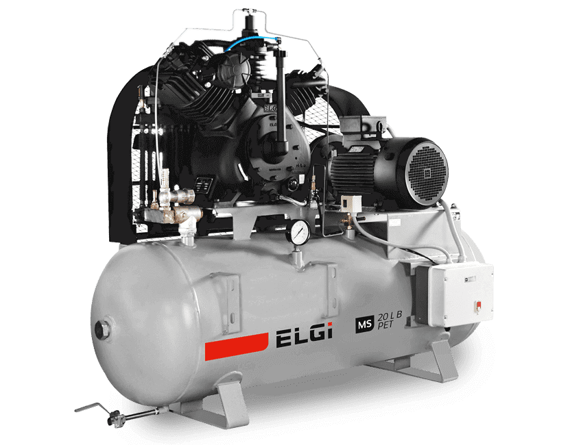High Pressure Reciprocating Air Compressor for Packaging Industry
