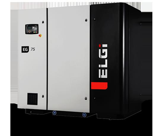 Electric Lubricated Screw Compressor