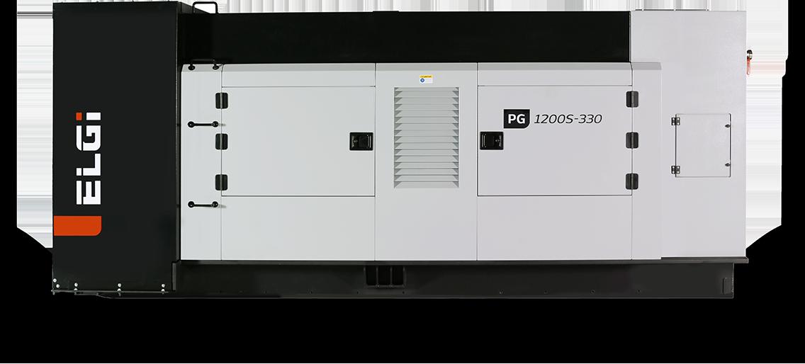 500-1500CFM Skid mounted air compressor