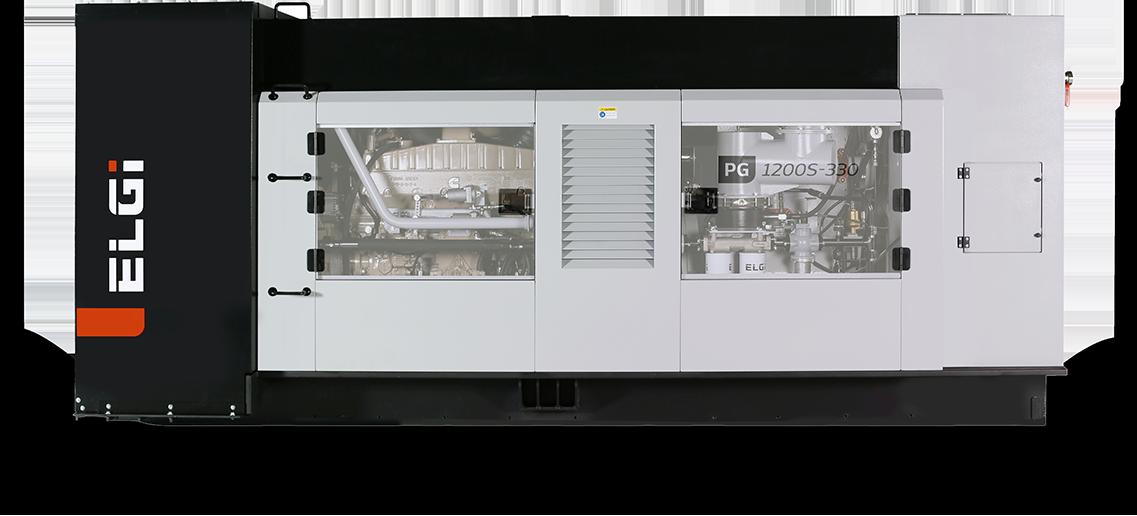 Portable compressor for constructions