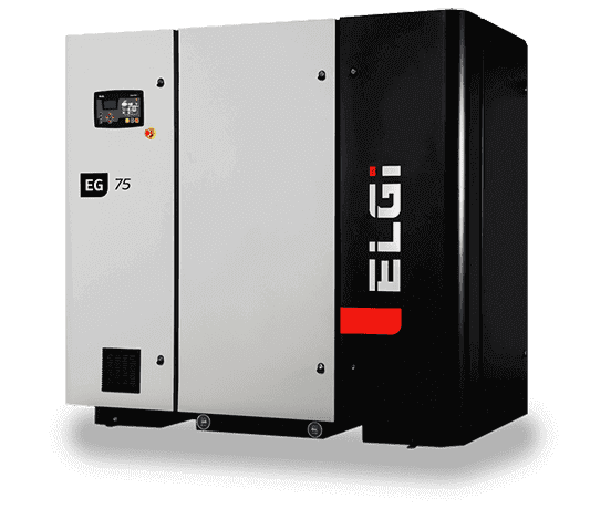 Electric Lubricated Screw Compressor