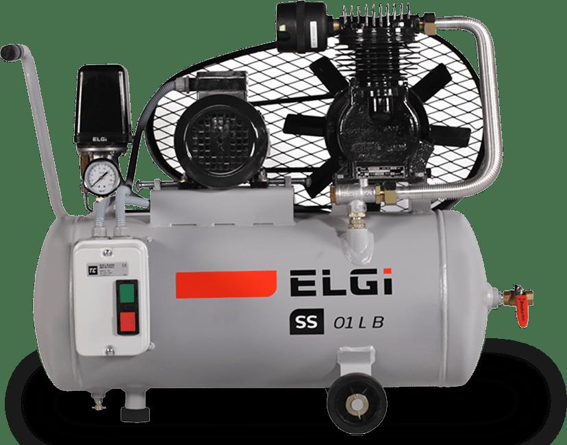 air compressor for concrete bath plants