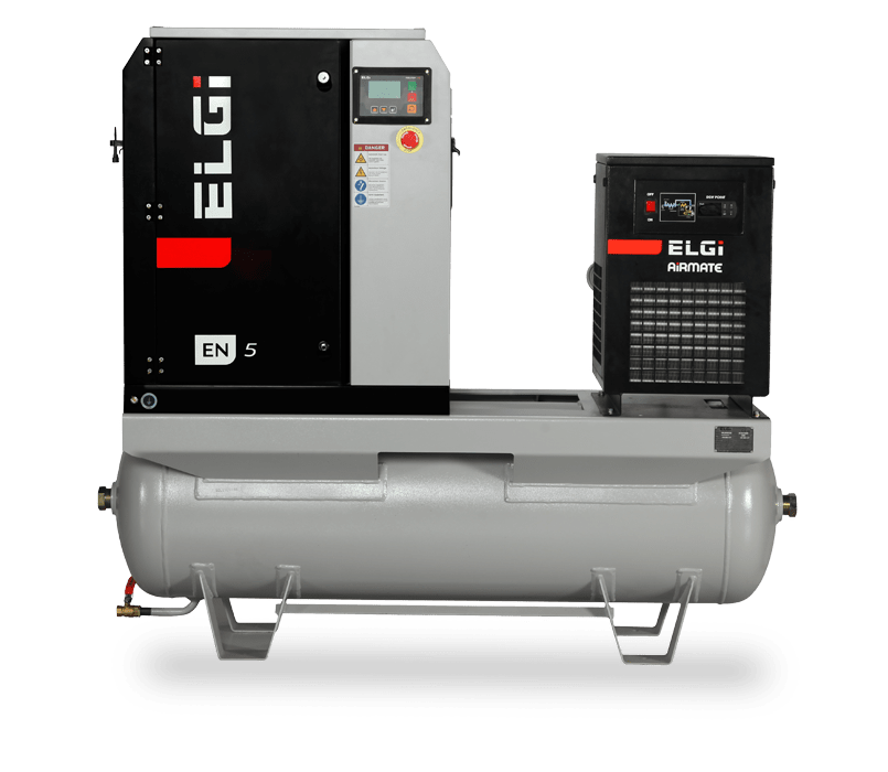 Air compressors for food processing