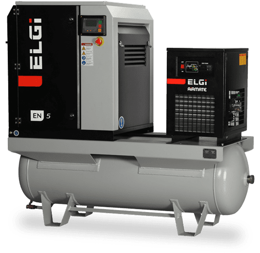 Elgi EN Series Screw Air Compressors (2.2-45 kW)