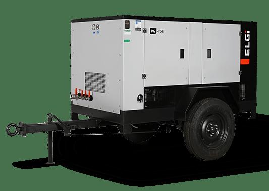 Electric Powered Portable Air Compressor (31-490 CFM)