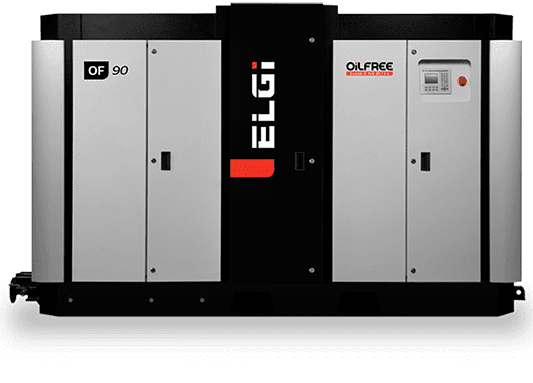 Electric Oil Free Screw Air Compressors (45–450 KW)