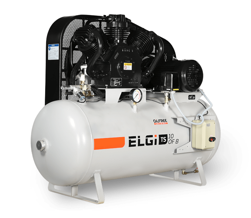 oil free air compressors for electronics production