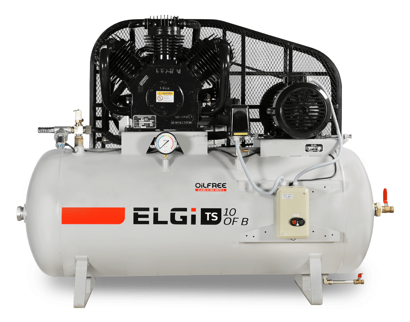 oil free air compressors for research facilities