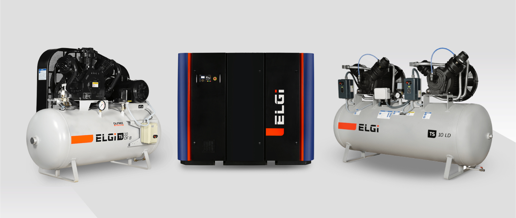 The difference between rotary screw air compressors and reciprocating air compressors