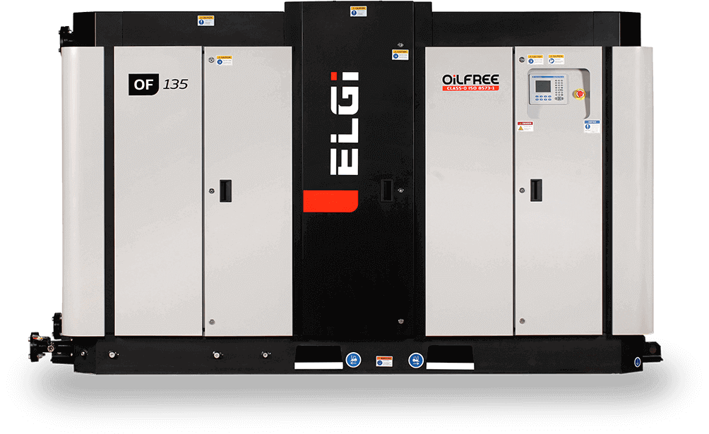 oil free screw air compressor for pharmaceutical