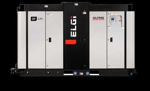 electric oil free compressor