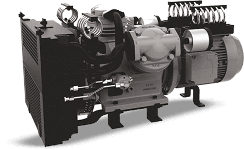 3 phase locomotive railway compressor