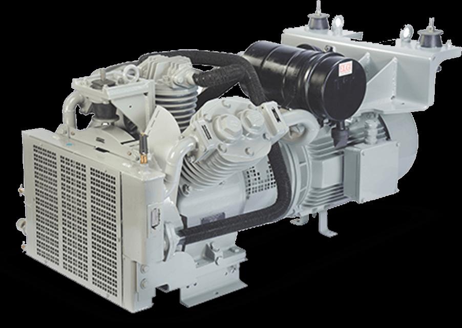 oil free railway air compressor