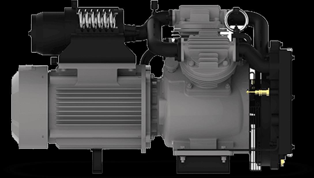 electric locomotive compressors