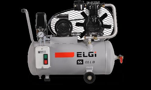 single stage belt driven compressor